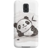 Panda that is relaxing Samsung Galaxy Case/Skin