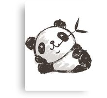 Panda that is relaxing Canvas Print