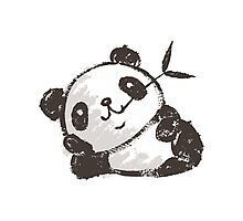 Panda that is relaxing Photographic Print