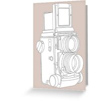 TLR Camera Greeting Card
