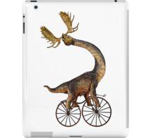 Brachiosaurus Brachiolope on Velocipede iPad Case/Skin