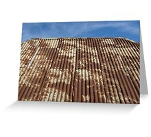 Contrast- Hill End Greeting Card