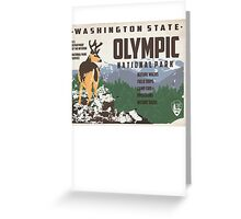 Travel Washington Greeting Card