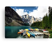 Moraine Lake, Banff NP Canvas Print