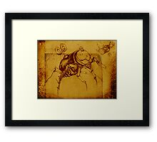 Toy Beetle for the Kids Framed Print