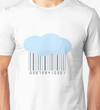 Rain Barcode Unisex T-Shirt
