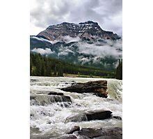 Athabasca Falls, Jasper NP Photographic Print