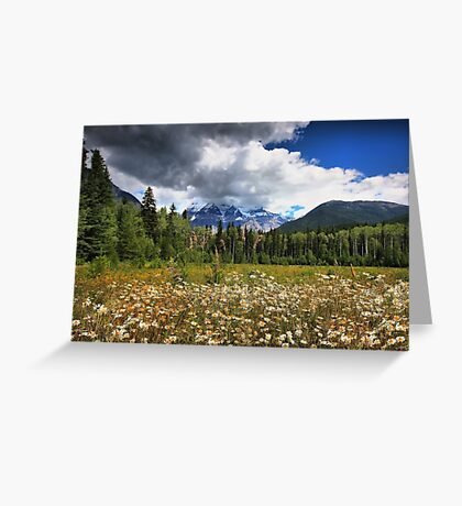 Mount Robson, BC, Canada Greeting Card