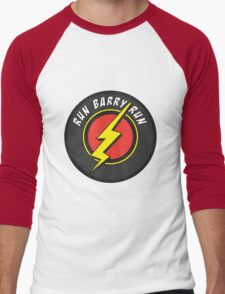 RUN BARRY RUN Men's Baseball ¾ T-Shirt