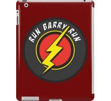 RUN BARRY RUN iPad Case/Skin