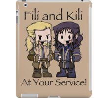 Little Fili and Kili iPad Case/Skin