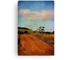 A different road ...  Canvas Print