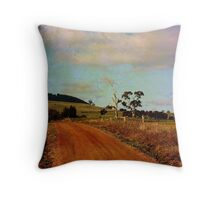 A different road ...  Throw Pillow