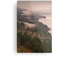 Heavy Mist in the Gorge Metal Print