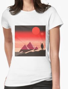 The Traveller Womens Fitted T-Shirt