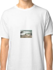 Flowers in the wave Classic T-Shirt