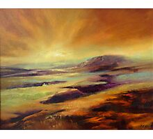 Moorland Dawn Photographic Print