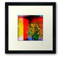 Bright Vase Framed Print