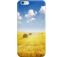 After Harvest  iPhone Case/Skin
