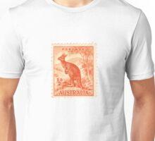 Kangaroo stamp Unisex T-Shirt