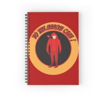 TO THE ARROW CAVE ' SPEEDY' Spiral Notebook