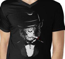 Monkey Mafia Mens V-Neck T-Shirt