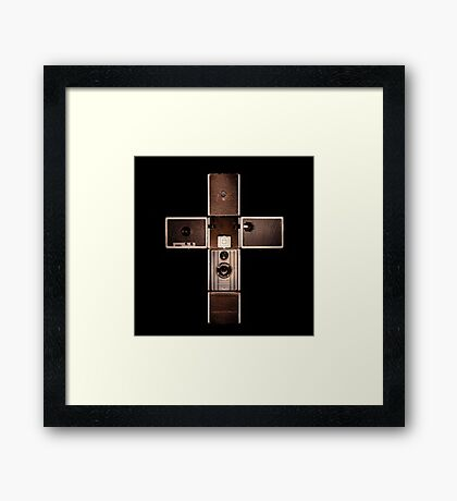 My religion Framed Print