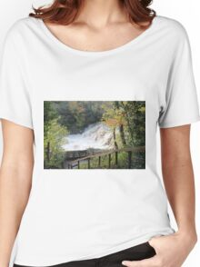 Yorkshire Dales Waterfall Women's Relaxed Fit T-Shirt