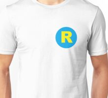 Running Man R logo Unisex T-Shirt