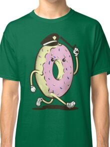 Donut Run From The Law Classic T-Shirt