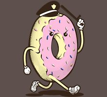 Donut Run From The Law Unisex T-Shirt
