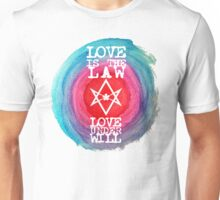 Love is the law Unisex T-Shirt
