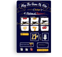 Slot Machine Of Life Canvas Print