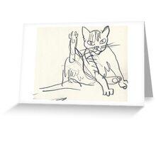 Leg Up Greeting Card