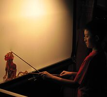 Puppetry - CNY celebrations, Singapore by Nupur Nag