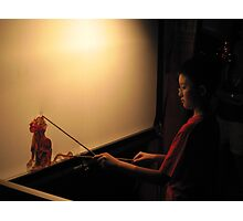 Puppetry - CNY celebrations, Singapore Photographic Print