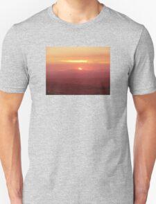 Sunset from Tamborine Mountain #1 Unisex T-Shirt