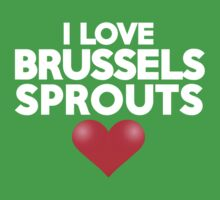 I love brussels sprouts by onebaretree