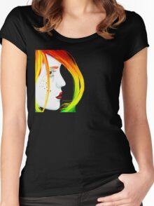 Unbalanced Women's Fitted Scoop T-Shirt