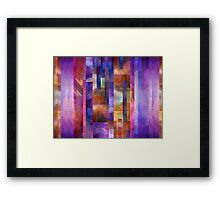 Abstract Composition #1 – April 14, 2010  Framed Print