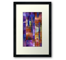 Abstract Composition #2 – April 14, 2010  Framed Print