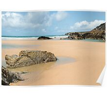 Bedruthan Beach,North Coast of Cornwall Poster
