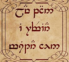 Not All Who Wander Are Lost in Elvish by Denise Giffin
