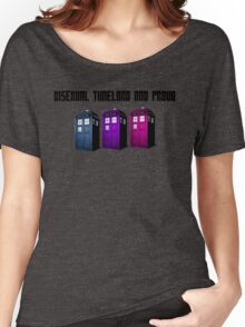 Bisexual Timelord and Proud Women's Relaxed Fit T-Shirt