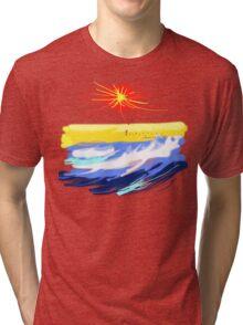 BEACH T SHIRT Tri-blend T-Shirt