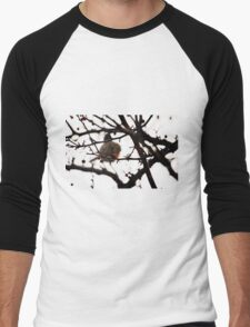 InkBlot Robin Men's Baseball ¾ T-Shirt