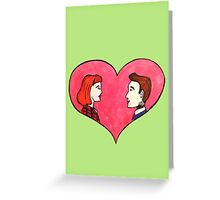 The Love Truth is Out There Greeting Card