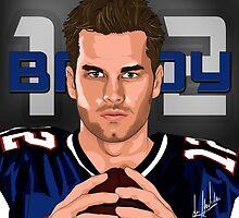 Tom Brady  by Jmaldonado781