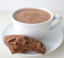Creamy Hot Chocolate by Evelyn Flint - Daydreaming Images