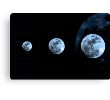 "A satellite called ""Moon"" Canvas Print"